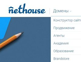 Managing Domains on nethouse.ru