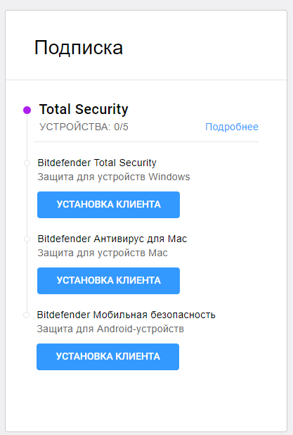 Bitdefender otal Security